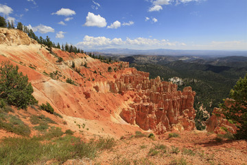 overlook from bryce canyon