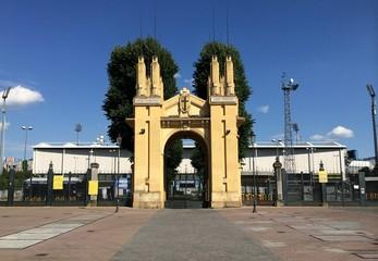 L'entrata dello stadio Ennio Tardini di Parma
