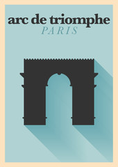City of Paris Typographic Design