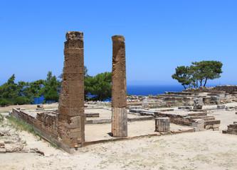руины древнегреческого города