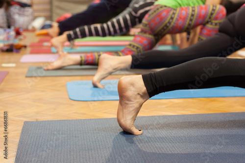 Zdjęcia na płótnie, fototapety, obrazy : yoga class