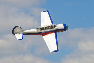 Pilotage airplane Yak-52