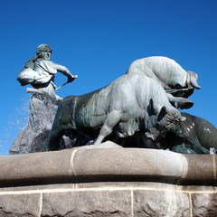 Copenhagen, Gefion fountain