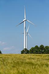 Windkraftanlage zur Energiegewinnung