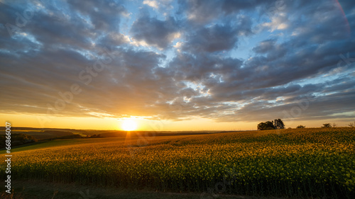 canvas print picture Abendstimmung