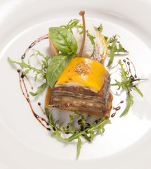 Delicious foie gras