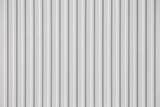 white Corrugated metal texture surface or galvanize steel