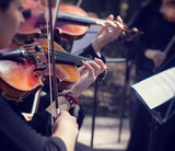 Classical music concert outdoors. - 66868670