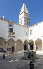 Monastery Courtyard in Piran