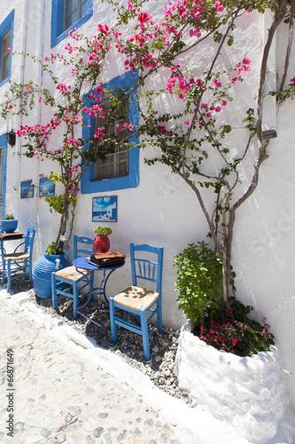 Beautiful restaurant in Kos town.