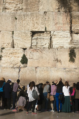 The Western Wall, Female part, Jerusalem