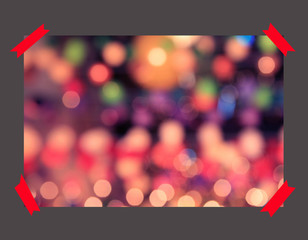 multicolored defocused bokeh lights background