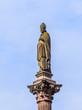 statue of bishop in freiburg