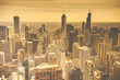 Chicago Skyline Aerial View - 66873872