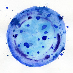 Watercolor circle