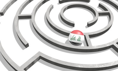 iraq in the maze of politic problems