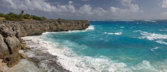 Rough seas at Barbados