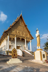 Wat That Luang Neua in Vientine, Laos