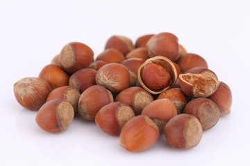handful of hazelnuts