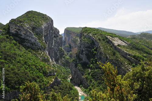 Papiers peints Canyon Gorges du Verdon.