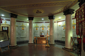 Holy Royal martyrs, place of execution of Emperor Nicholas II