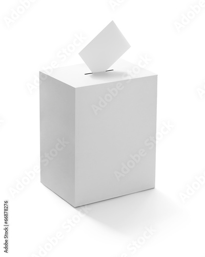ballot box casting vote election - 66878276