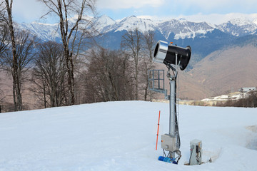 Snowmaking machine