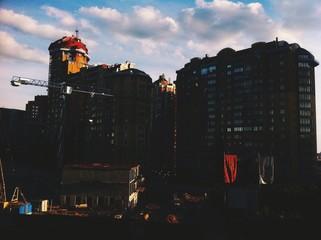 Modern Kiev city