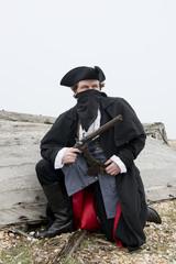 Smuggler With Pistol