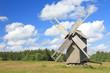 Old wooden windmill, Hiiumaa island, Estonia