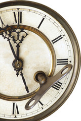 advices of old clock