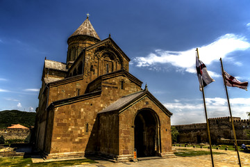 Svetitskhoveli Cathedral, Orthodox church in Mtskheta, Georgia