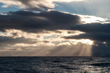 Antarctic Sunset 1
