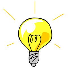 電球・ひらめき・アイデア