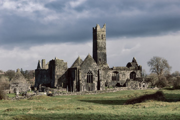 Abbey ruin in Ireland