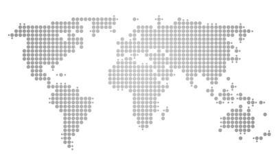 Landkarte gepunktet *** Weltkarte