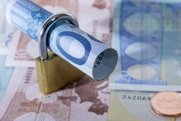 Euro - Geld und Schloss