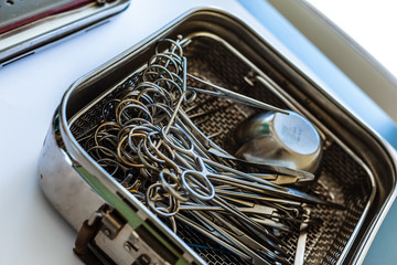 Surgical equipment in a box