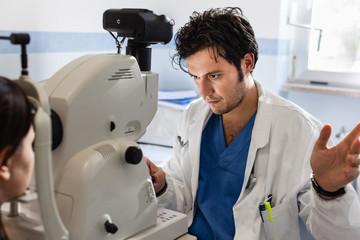 Ophthalmology check