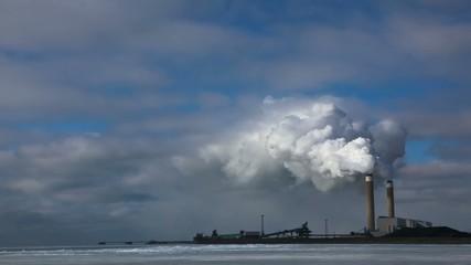 The Nanticoke coal powered power plant in Ca