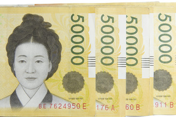 Korea Money 50000 won