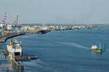 Port et raffinerie