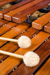 Mallets on marimba - 66888241