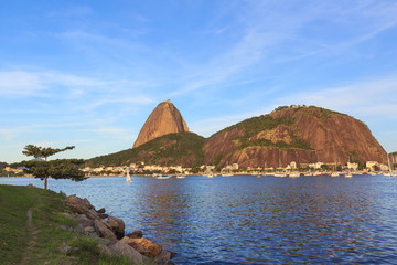 Mountain Sugarloaf Guanabara bay, Rio de Janeiro
