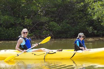 Kayaking in the Mangroves in Florida