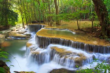 Erawan faterfall in Kanchanaburi province of Thailand