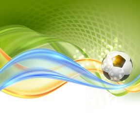 Creative Soccer Vector Design
