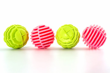 Washing ball, plastic balls for washing machine.