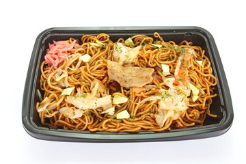 Japanese stir - fried noodle yakisoba