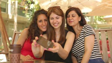 Sidewalk Cafe Selfie